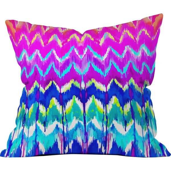 Holly Sharpe Summer Dreaming Throw Pillow by Deny Designs