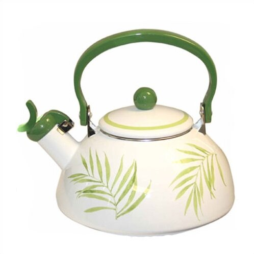 Bamboo Leaf 2.5-qt. Whistling Tea Kettle by Corelle