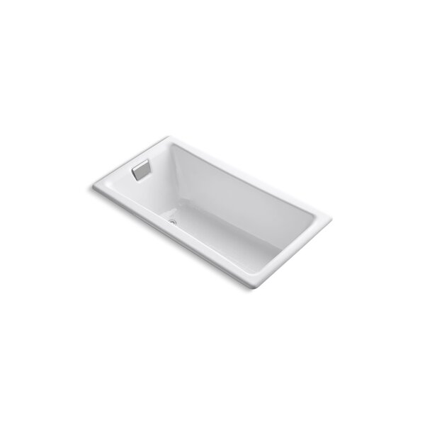 Tea for Two for Two 60 x 32 Soaking Bathtub by Kohler