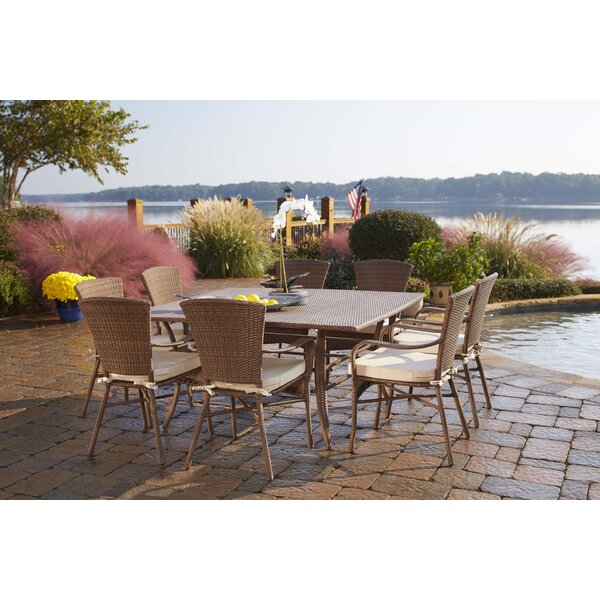 Panama Jack Key Biscayne 9 Piece Dining Set U0026 Reviews | Wayfair