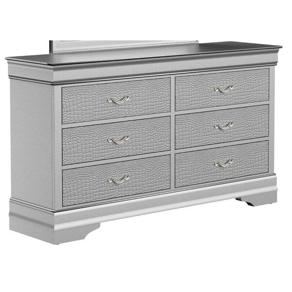 Pudalov 6 Drawer Dresser by Mercer41