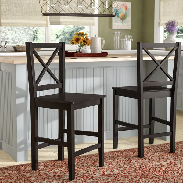 Sally 24 Bar Stool (Set of 2) by August Grove
