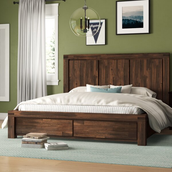 Akers Storage Platform Bed by Grovelane Teen