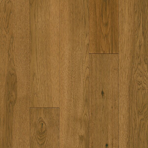 Impressions 5 Engineered Hickory Hardwood Flooring in Deep Etched Golden Summer by Armstrong Flooring