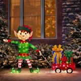 Christmas Elves Outdoor Holiday