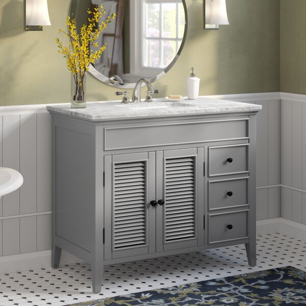Grovetown 42 Single Bathroom Vanity Set by Laurel Foundry Modern Farmhouse