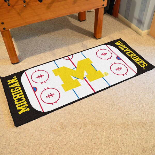 University of Michigan Doormat by FANMATS