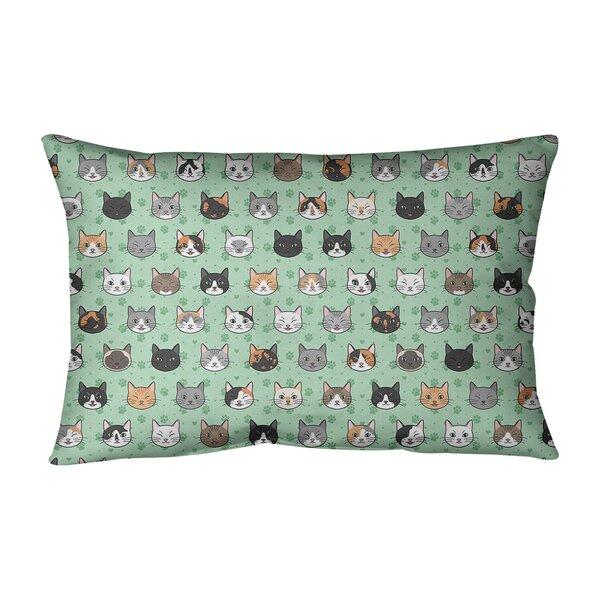 Kitterman Animal Print Indoor/Outdoor Lumbar Pillow