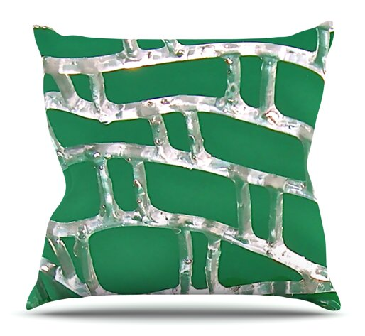 Catch by Maynard Logan Outdoor Throw Pillow by East Urban Home