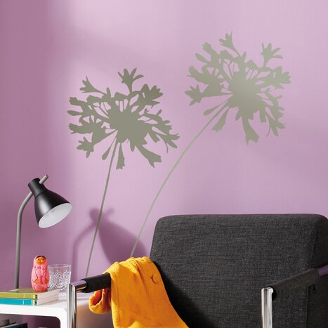 Euro Living Silhouette Wall Decal by Brewster Home Fashions