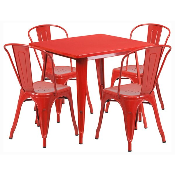 5 Piece Dining Set by Offex