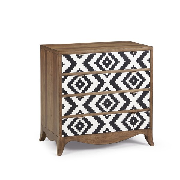 Calhoun Bachelor 4 Drawer Accent Chest by World Menagerie