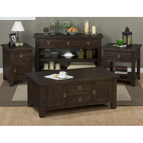 Apple Valley Coffee Table Set by Three Posts