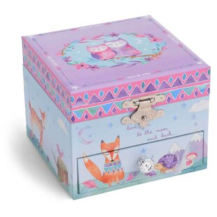 Low priced Woodland Twinkle Twinkle Little Star Musical Jewelry Box By Harriet Bee