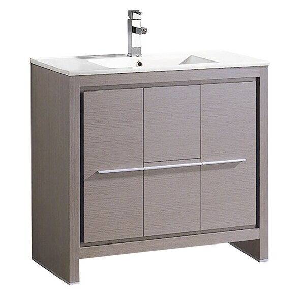 Allier 35 Single Bathroom Vanity Set by FrescaAllier 35 Single Bathroom Vanity Set by Fresca