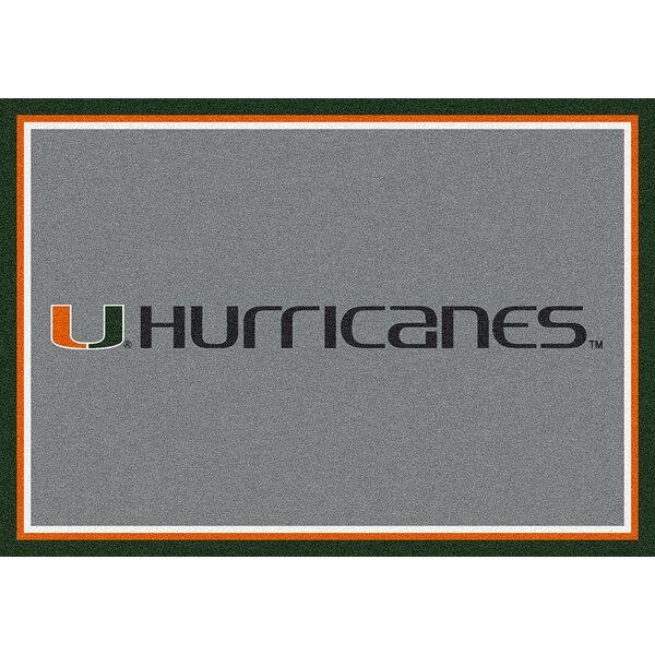Collegiate University of Miami Hurricanes Doormat by My Team by Milliken