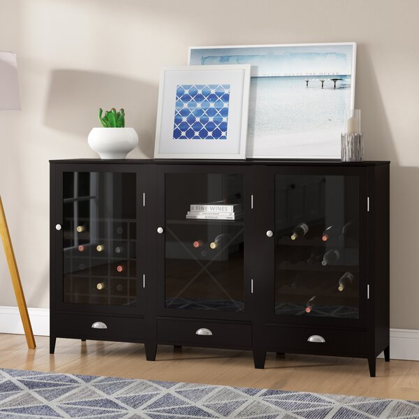 Pinellas Park Floor Bar Cabinet by Beachcrest Home Beachcrest Home