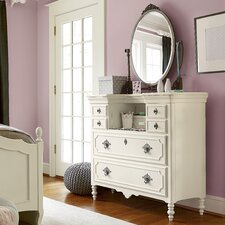 Denzel 6 Drawer Dresser With Mirror by Viv + Rae