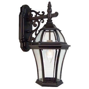 Read Reviews Plantation 1-Light Outdoor Wall lantern By Special Lite Products