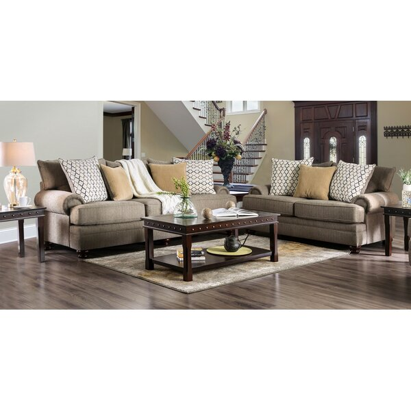 Warnell 2 Piece Living Room Set by Canora Grey