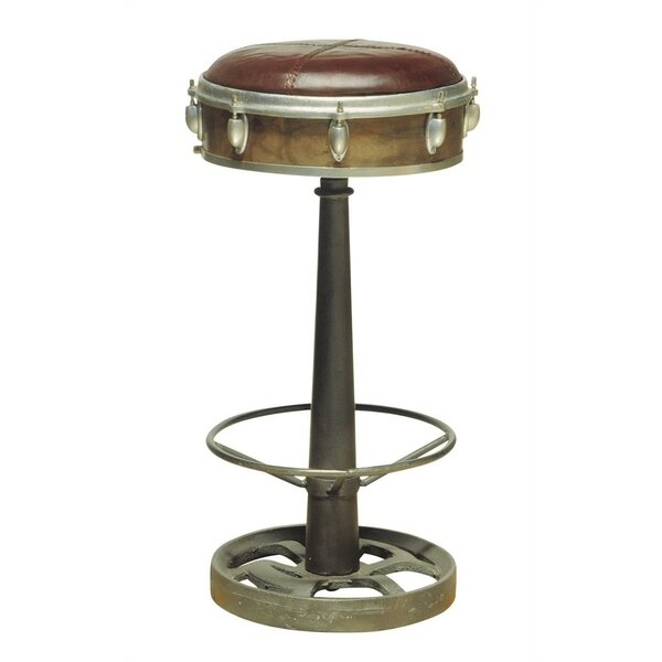 Wright Drummer 31 Swivel Bar Stool by Highway To Home