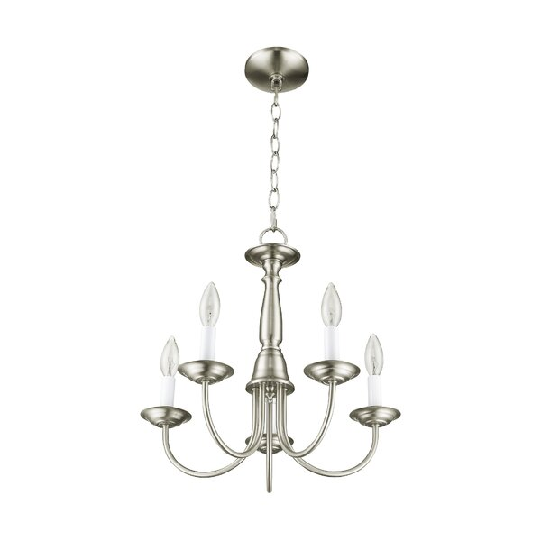 Cloverfield 5-Light Candle Style Classic / Traditional Chandelier By Charlton Home