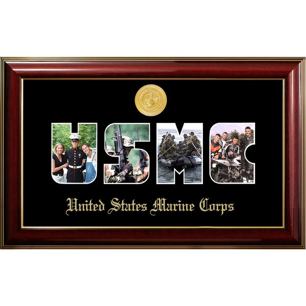 Marine Collage Photo Classic Picture Frame by Patriot Frames