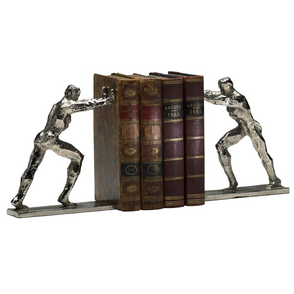Iron Man Bookends (Set of 2) by Cyan Design