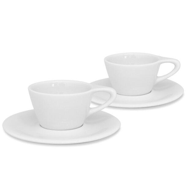 notNeutral LINO 6 oz. Double Cappuccino Cup & Saucer & Reviews | Wayfair