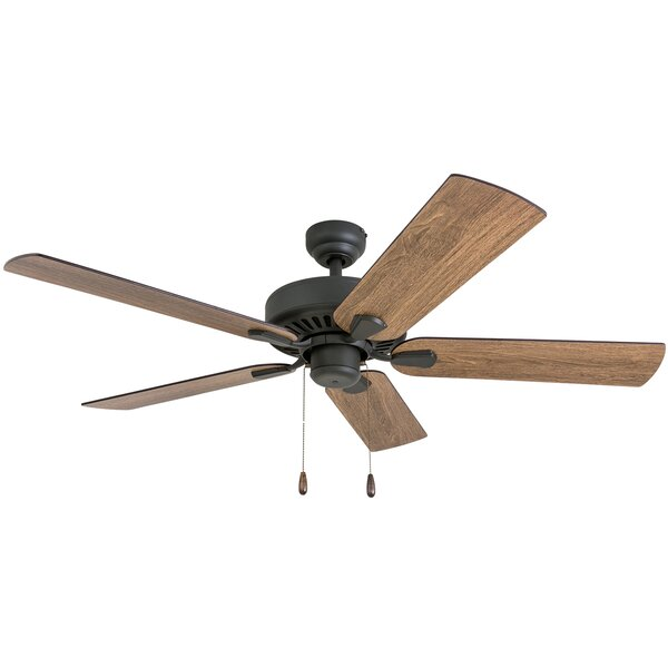52 Tyrese 5 Blade Ceiling Fan by Millwood Pines