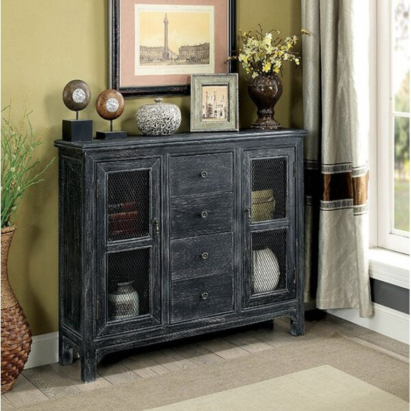 Zendaya Hallway 4 Drawer Accent Cabinet by August Grove