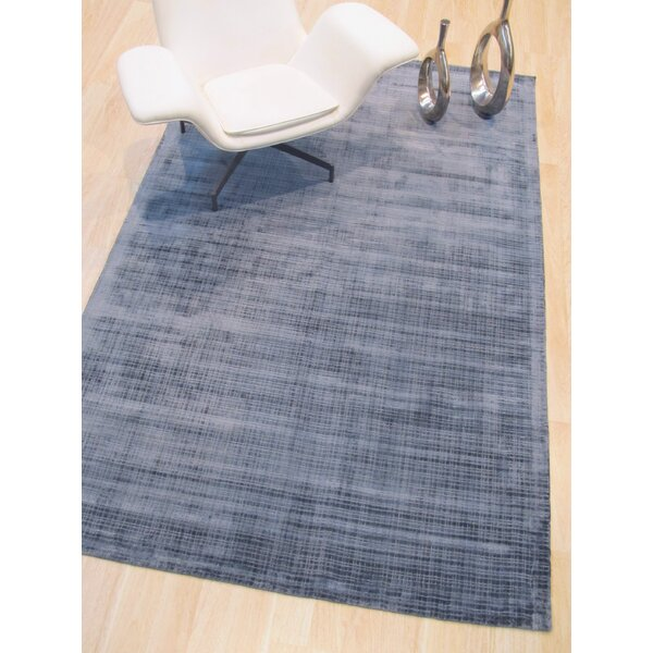 Clarissa Hand-Woven Blue Area Rug by Brayden Studio