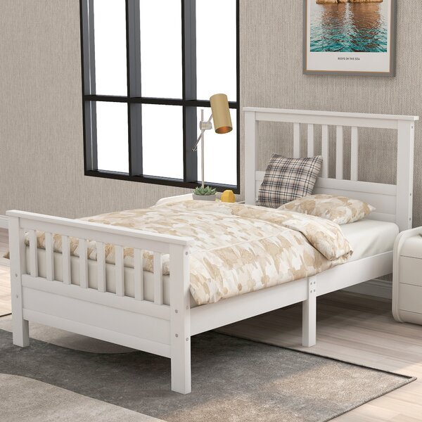 Freja Twin Platform Bed with Mattress by Red Barrel Studio