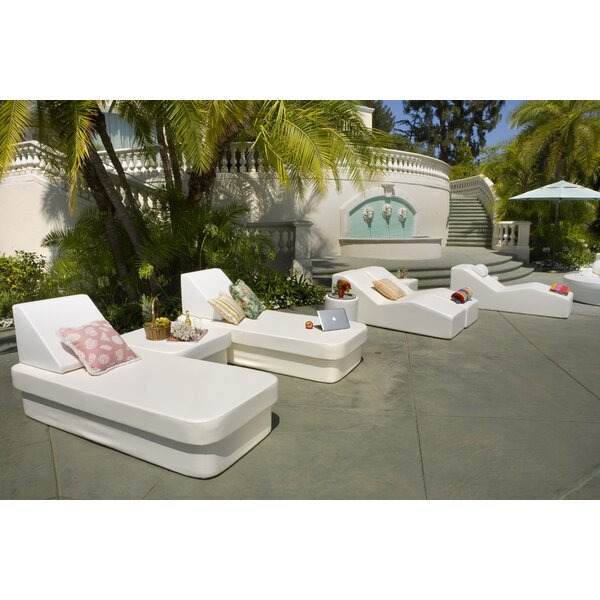 Resort Daybed with Lean Headboard Bolster by La-Fete