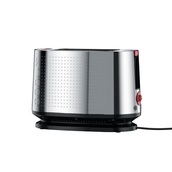 2 Slice Bistro Stainless Steel Toaster by Bodum