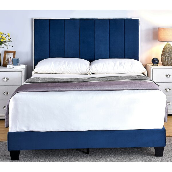 Aayush Upholstered Standard Bed by Everly Quinn