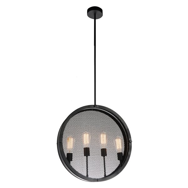 Thayer 4-Light Candle Style Geometric Chandelier By Williston Forge