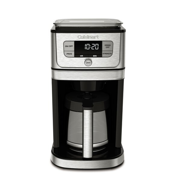 12-Cup Burr Grind and Brew Coffee Maker by Cuisinart