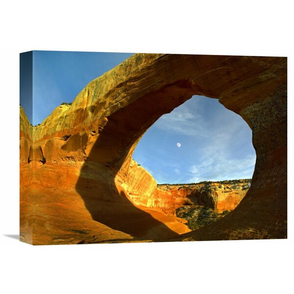 Nature Photographs Wilson Arch with a Span of 91 Feet and Height of 46 Feet, Made of Entrada Sandstone, Utah by Tim Fitzharris Photographic Print on Wrapped Canvas by Global Gallery