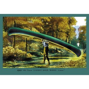 15 Foot 50 Lb. Model' Canoe Graphic art by Buyenlarge