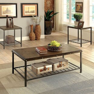 Whorton 3 Piece Coffee Table Set by Loon Peak