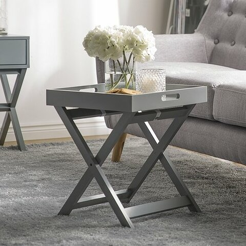 Prattsville Tray Table by Ebern Designs