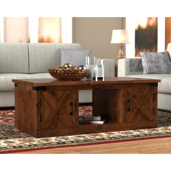 Pullman Coffee Table with Storage by Loon Peak Loon Peak