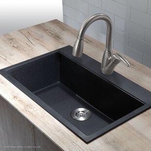 black undermount kitchen sinks. 31  X 20 08 Undermount Topmount Kitchen Sink Black Sinks You Ll Love Wayfair Ca