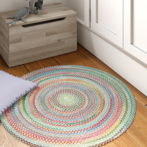 Melanie Braided Cotton Area Rug by Viv + Rae