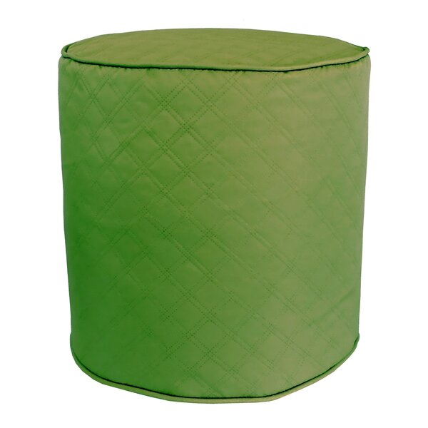 Sonic Diamond Pouf Ottoman by Edie Inc.