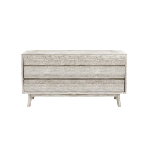 Britton 6 Drawer Double Dresser by Union Rustic