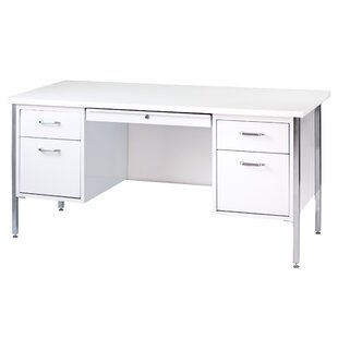 500 Series 5 Drawers Double Pedestal Executive Desk