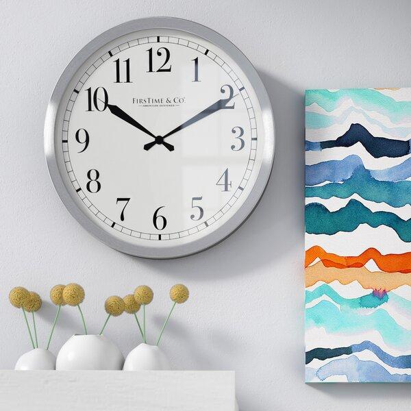 Luis Round 15.75 Wall Clock by Zipcode Design