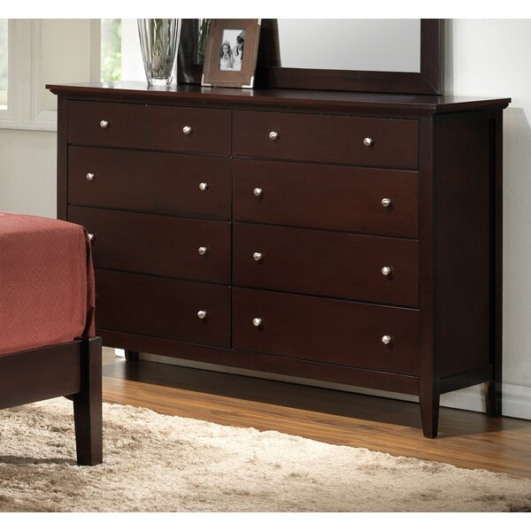 Maeve 8 Drawer Double Dresser by Charlton Home